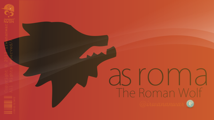 AS ROMA: The Roman Wolf | by IA14